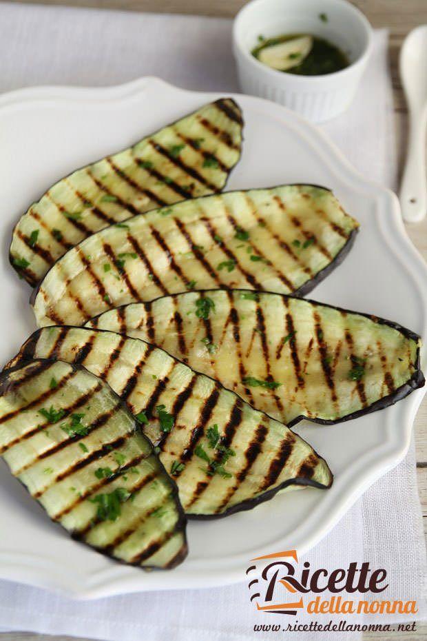 melanzane grigliate saporite