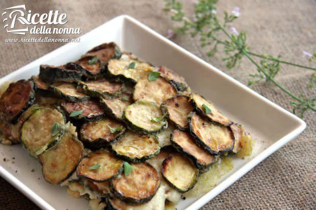 Ricetta zucchine al cartoccio