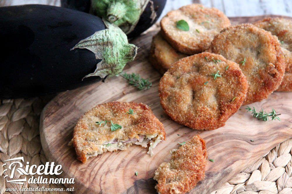 Ricetta cordon bleu di melanzane