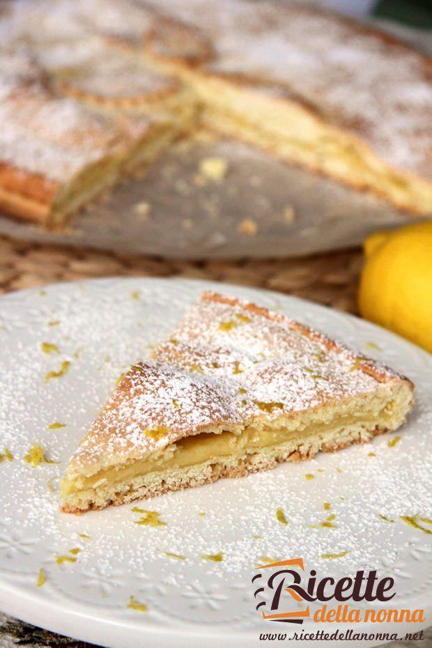ricetta crostata limone