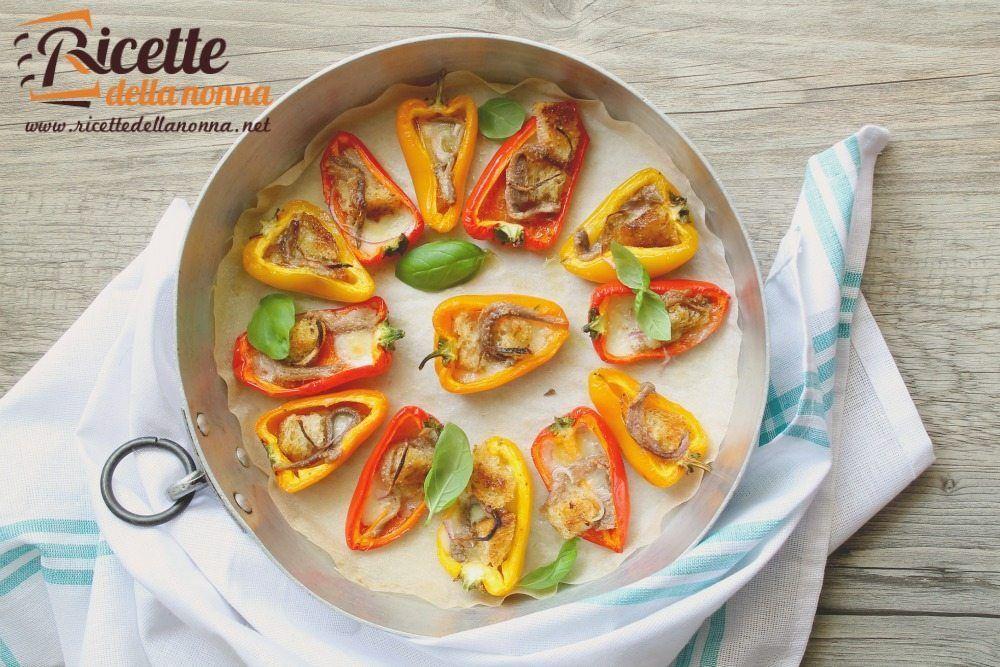 Peperoni al forno ricette della nonna for Secondi piatti della cucina romana