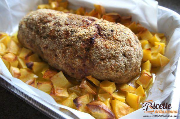 polpettone forno patate