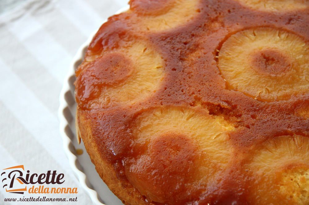 Ricetta torta ananas