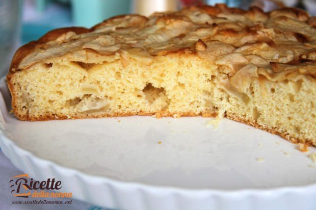 torta mele soffice