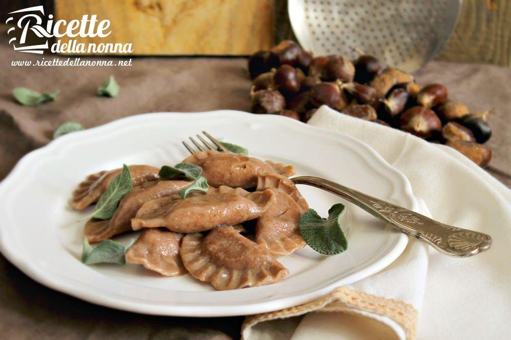 Ravioli di castagne ricette della nonna for Ricette castagne