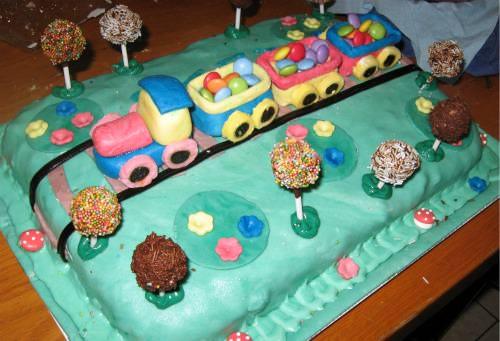 La torta finita