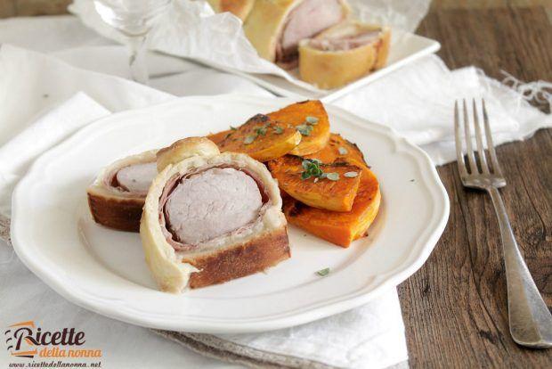 Ricetta arrosto di maiale in crosta