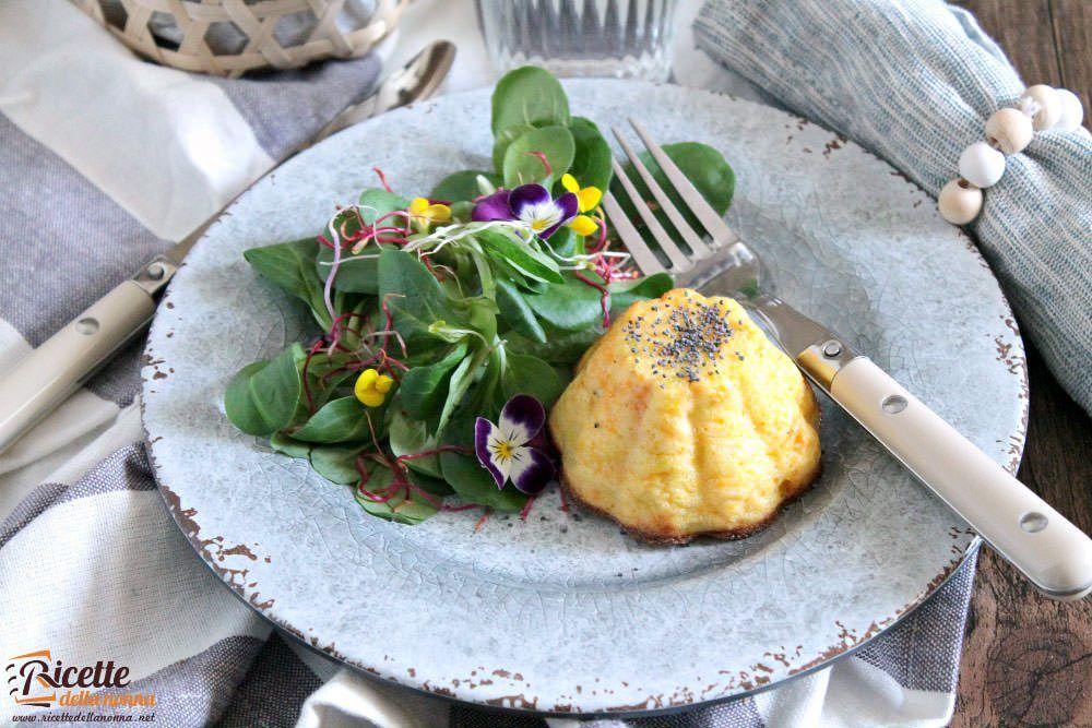 Frittata patate e carote ricetta e foto