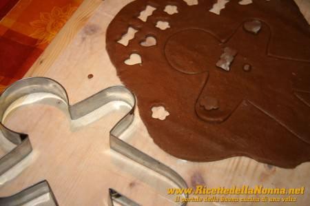 Preparazione Omini di pan di zenzero (gingerbread cookies)