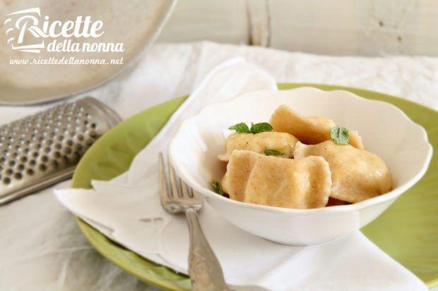 Tortelloni di patate e formaggi