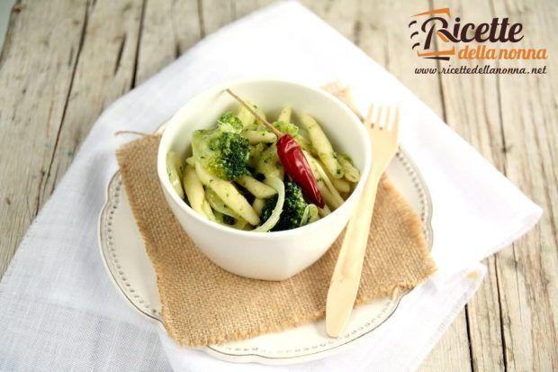 Ricetta cavatoni con broccoletti