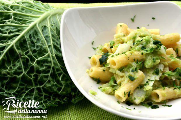 ricetta pasta verza