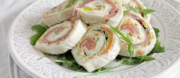 Fantasia di girelle al salmone ricetta e foto