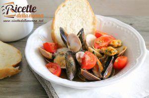 Zuppa fasolari, cozze e vongole veraci