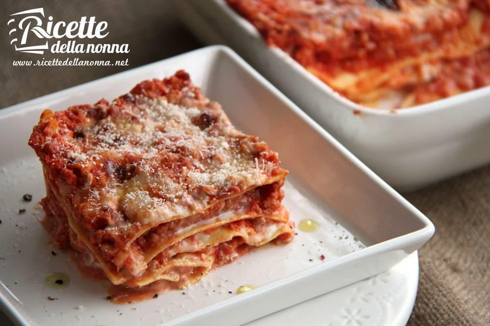 Ricetta Lasagne Fatte In Casa.Lasagne Alla Bolognese Ricette Della Nonna