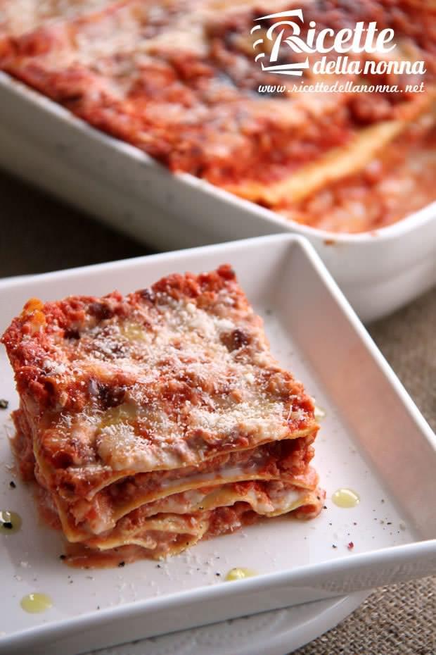 Lasagne al ragù ricetta e foto