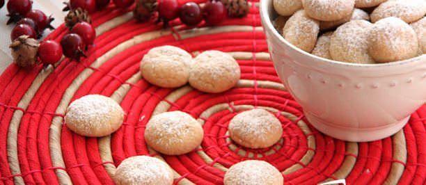 Biscotti palle di neve