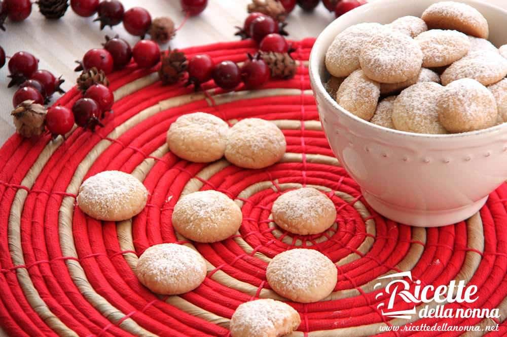 Dolci Natalizi Uccia3000.Palle Di Neve Biscotti Di Natale Ricette Della Nonna