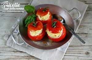 Pomodori alla crema di ricotta