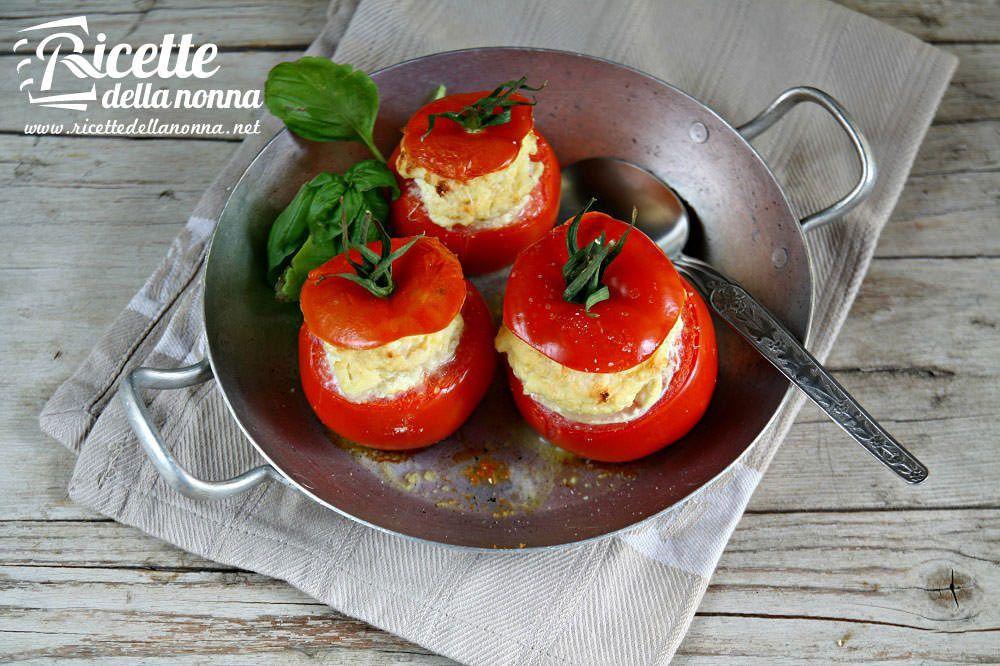 Ricetta pomodori con crema di ricotta