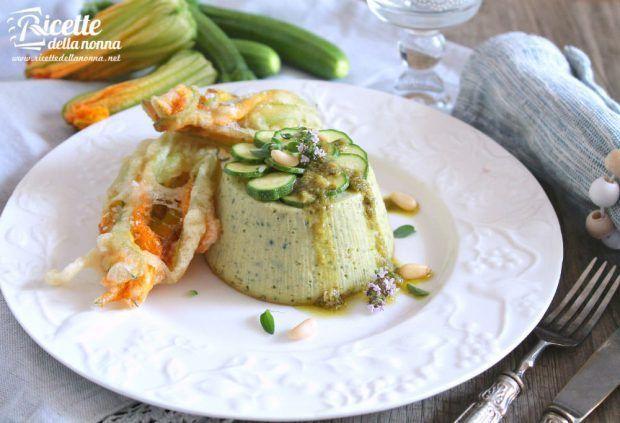 Flan di zucchine ricetta e foto