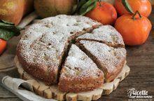 Torta alle pere e mandarini senza glutine