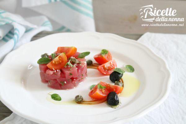 Tartare di tonno fresco