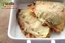 Crespelle ricotta e spinaci al forno