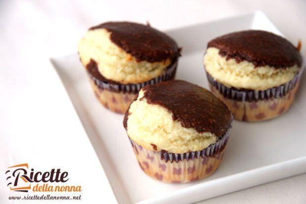 Muffin cocco e cacao ricetta e foto