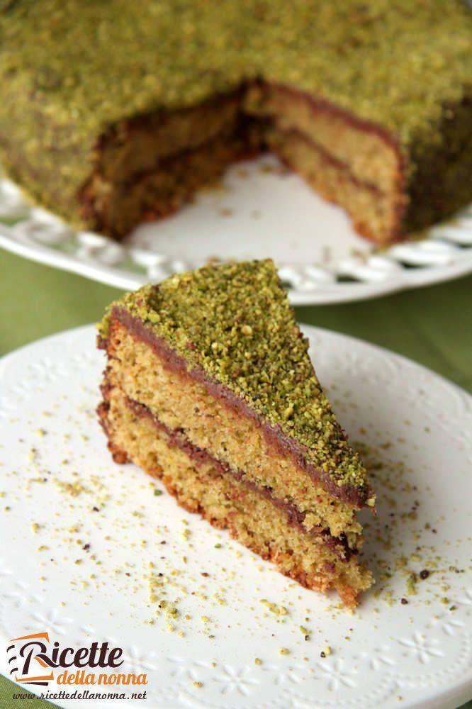 Torta pistacchi e Nutella ricetta e foto