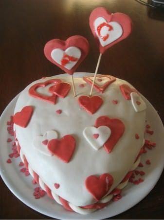 Torta Per San Valentino A Forma Di Cuore Ricette Della Nonna