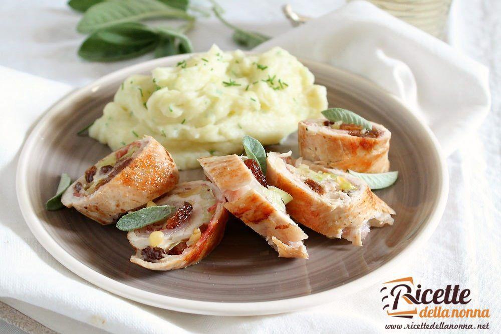 Filetti di tacchino ripieni ricette della nonna for Ricette veloci per cena
