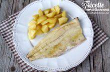Filetto di trota salmonata al vino bianco e salvia
