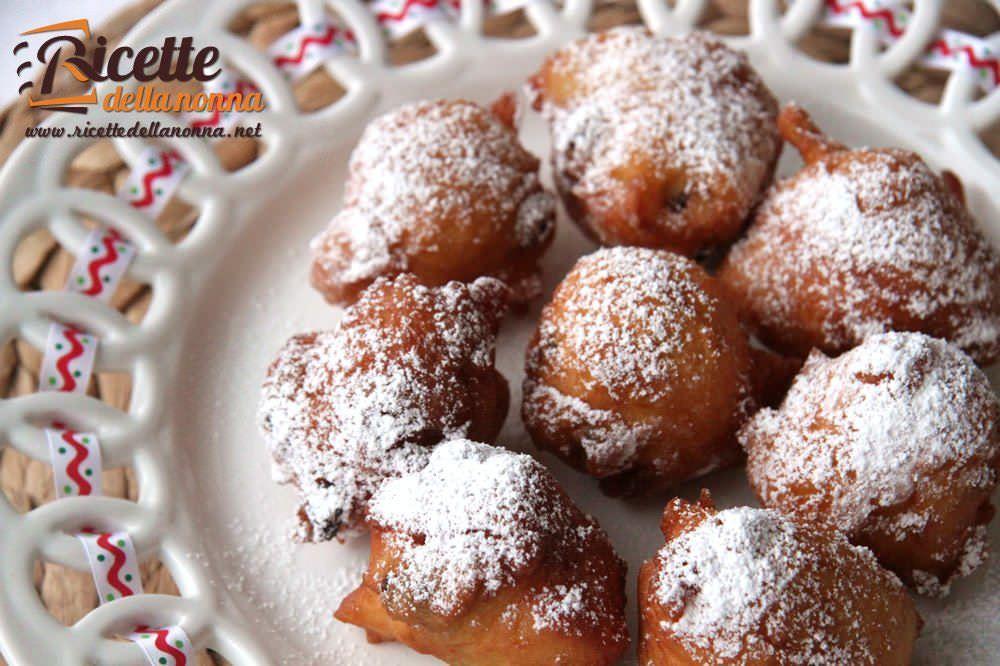 Fritole di carnevale ricette della nonna for Ricette dolci di carnevale