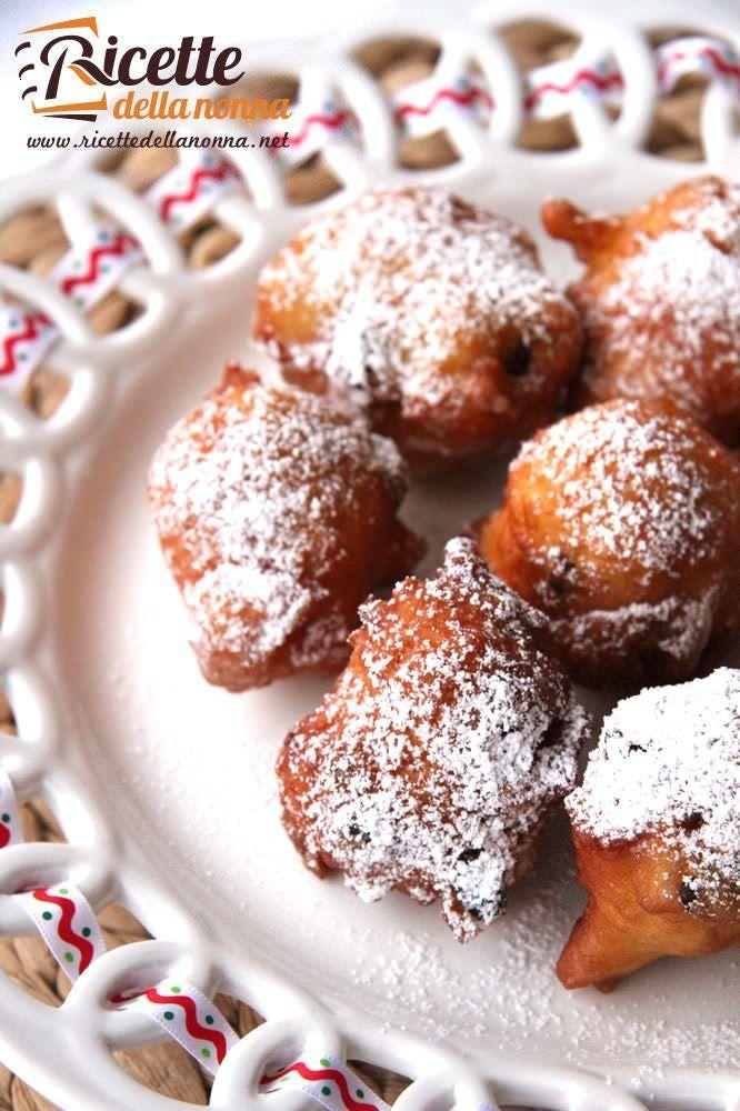 Fritole di Carnevale ricetta e foto