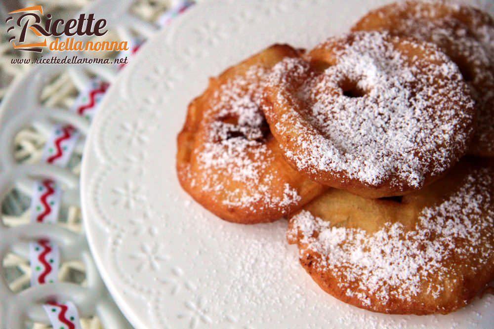Frittelle di mele ricette della nonna for Ricette dolci di carnevale