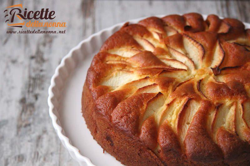 Ricetta torta con yogurt e mele ricette della nonna for Ricette torte semplici