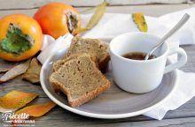 Plumcake ai cachi e frutta secca (glutenfree)