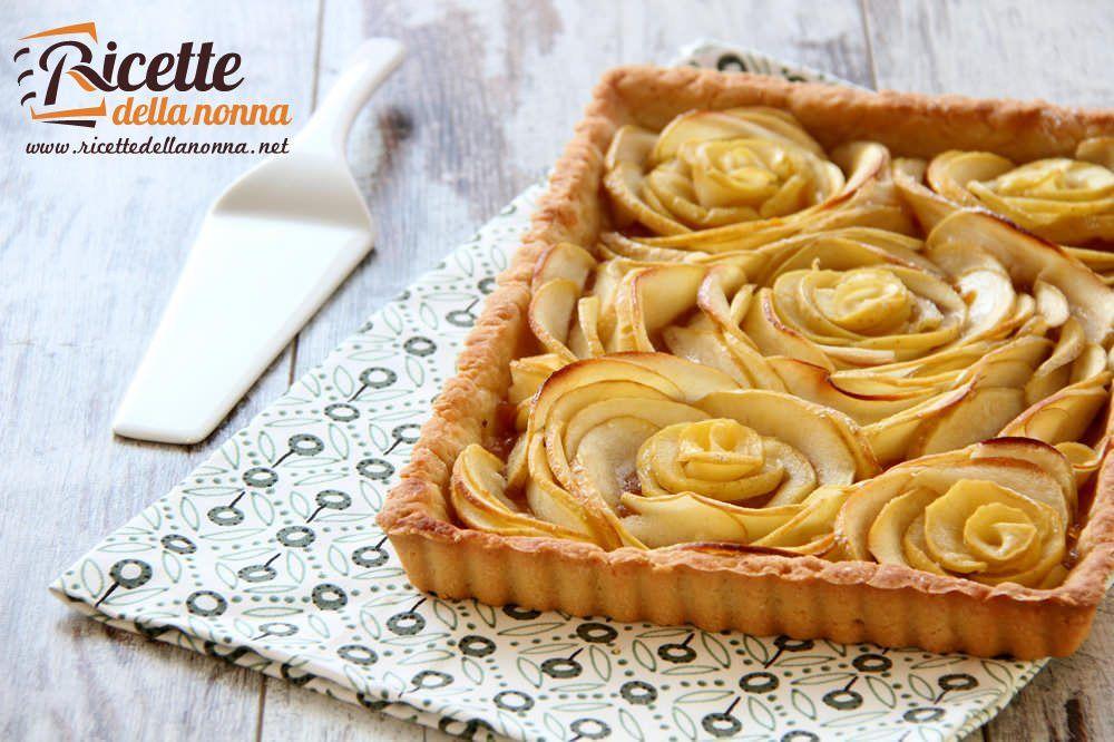 Crostata di mele in bellavista ricette della nonna for Crostata di mele
