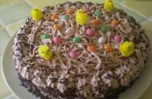 Nidi di Pasqua al cioccolato