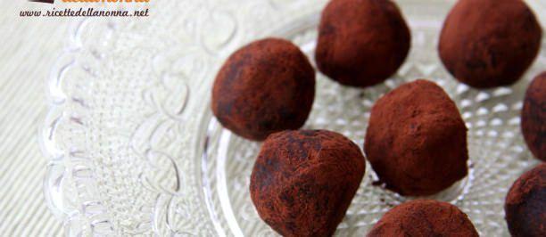 Ricetta tartufi al cioccolato