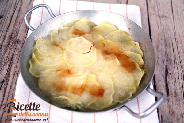 Tortino di patate e porri