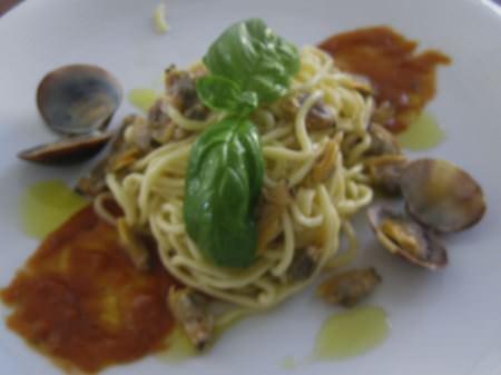Spaghetti all' acqua di mare ricetta e foto