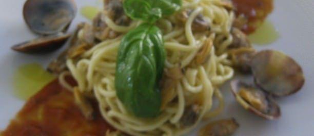 Spaghetti all' acqua di mare