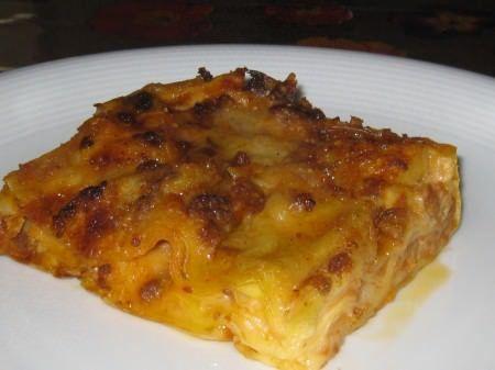 Lasagne al ragù e besciamella alla farina di ceci ricetta e foto