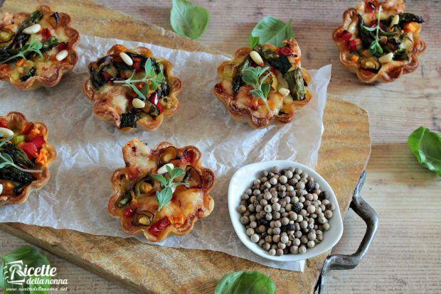 Sfogliatine vegetariane ricetta e foto