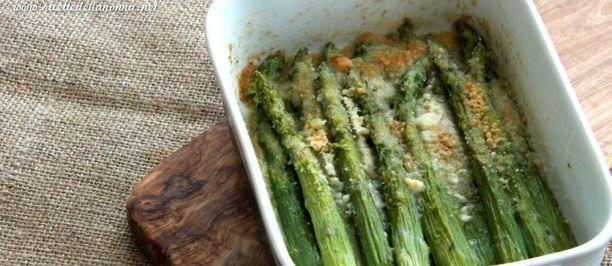 Ricetta asparagi gratinati