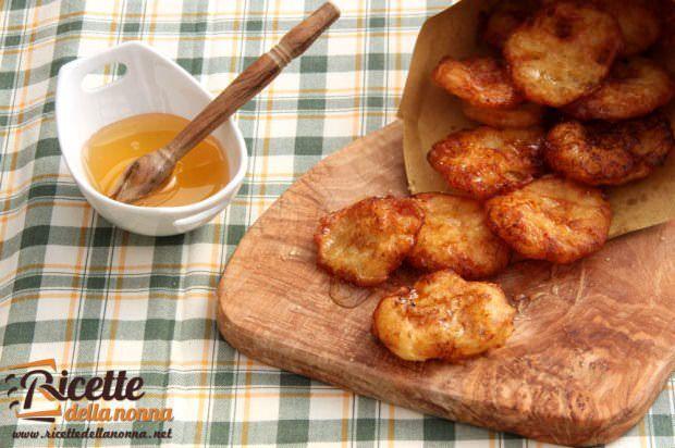 Frittelle di patate dolci