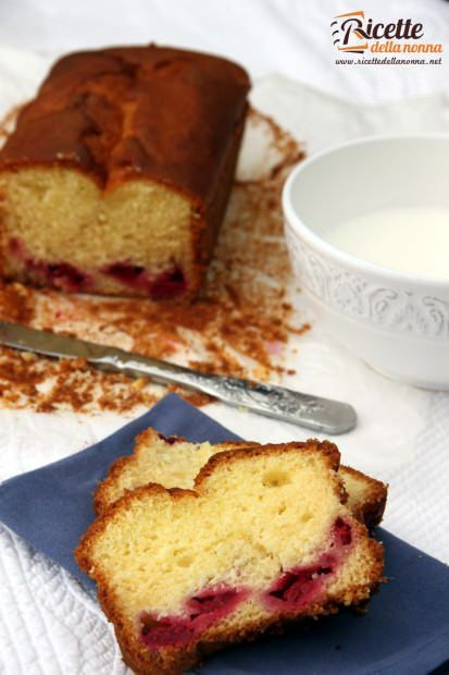 Plumcake alle fragole ricetta e foto