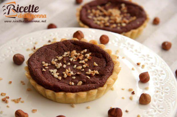 Ricetta tortine di frolla e cioccolato